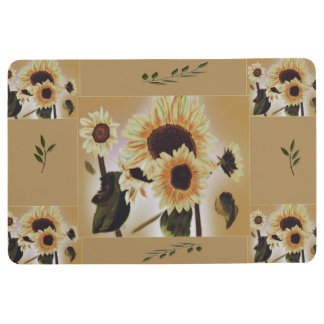 Sunflowers Mat