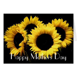 SUNFLOWERS MOTHERS DAY GREETING CARD