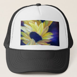 Sunflowers Oil Painting Trucker Hat