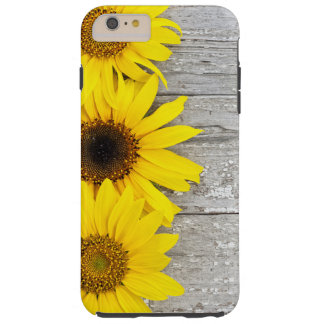 Sunflowers on a Table Tough iPhone 6 Plus Case