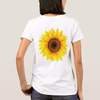 Sunflowers on t-shirts