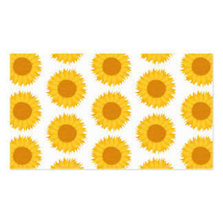 Sunflowers. Pack Of Standard Business Cards