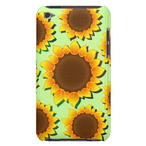 Sunflowers Pattern Background iPod Touch Case