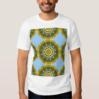 Sunflowers, pattern, Flower-Mandala Shirts