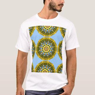 Sunflowers, pattern, Flower-Mandala T-Shirt
