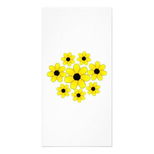 Sunflowers Photo Card