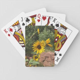 Sunflowers Poker Deck