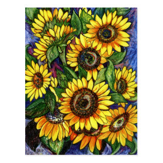 Sunflowers Post Cards