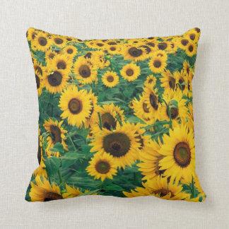 Sunflowers Print Cushion