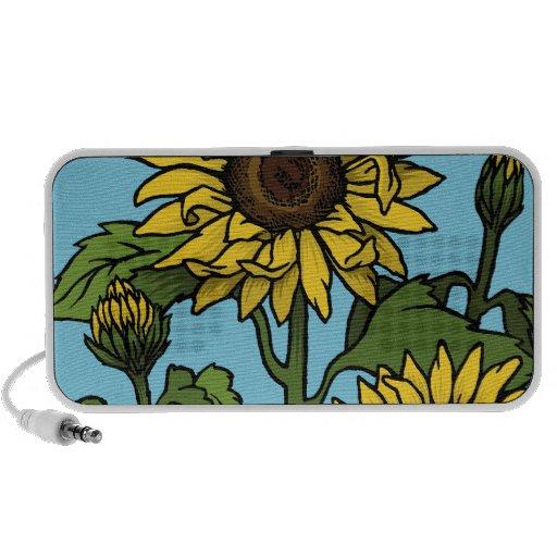 Sunflowers PC Speakers