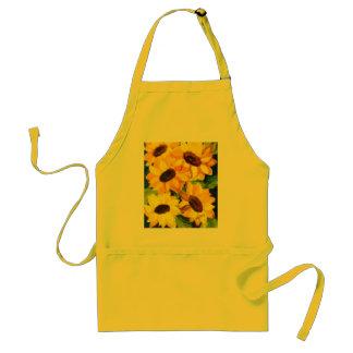 sunflowers standard apron