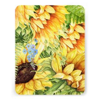 Sunflowers Stationery / Invitations