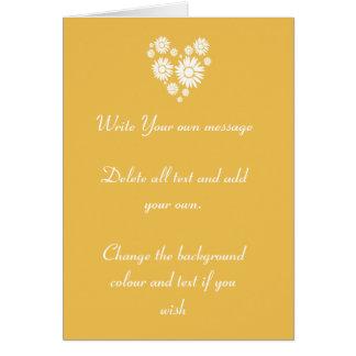 Sunflowers Summer Sun Wedding Invite Greeting Card