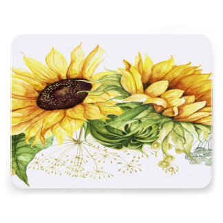 Sunflowers Thank You Stationery / Invitations