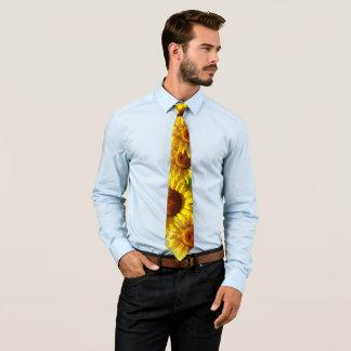 Sunflowers Tie