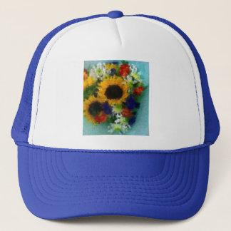 Sunflowers Trucker Hat
