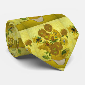 Sunflowers Vincent Van Gogh Tie