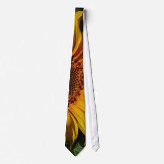 Sunflowers Yellow Tie
