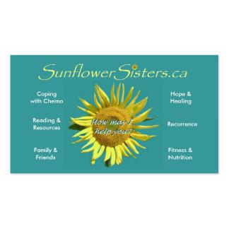 SunflowerSisters.ca Business Card