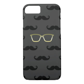 Sunglasses and Moustache iPhone 7 Case