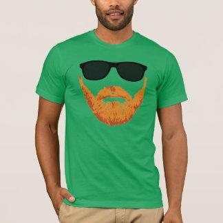 Sunglasses and Red Head Beard T-Shirt