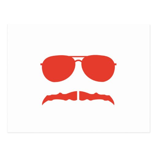 sunglasses and 'stache