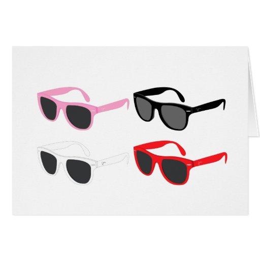 Sunglasses Card