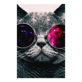 sunglasses cat 14 cm x 21.5 cm flyer