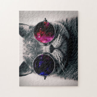 sunglasses cat jigsaw puzzle