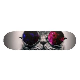 sunglasses cat skate board decks