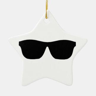 Sunglasses Ceramic Star Decoration