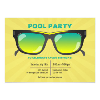 Sunglasses Invitation