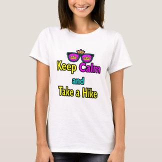 Sunglasses Keep Calm And Take A Hike T-Shirt