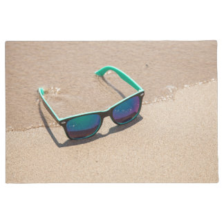 Sunglasses on the Beach Doormat