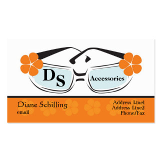 Sunglasses Profile Card Business Cards