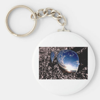 Sunglasses Relection Key Chain