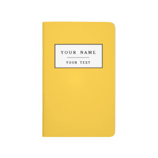 Sunglow Yellow Bright Colorful Journal