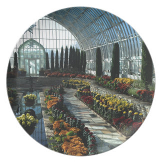Sunken Garden Room, Como Conservatory, Minnesota Plate