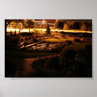 Sunken Gardens Poster