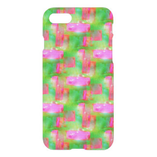 Sunlight abstract painted yellow, pink iPhone 8/7 case