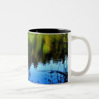 Sunlight and Shadow Two-Tone Coffee Mug