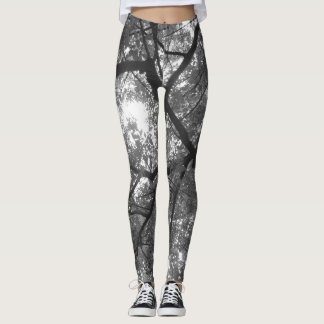 Sunlight and Trees Leggings