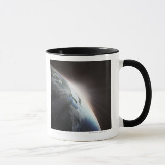 Sunlight Behind Earth 2 Mug