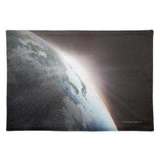 Sunlight Behind Earth 2 Placemat
