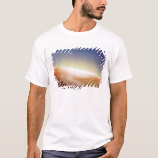 Sunlight Behind Earth 3 T-Shirt