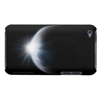 Sunlight Behind Moon iPod Touch Case