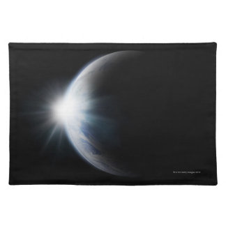 Sunlight Behind Moon Placemat