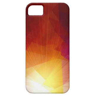 Sunlight cubism abstract art iPhone 5 case