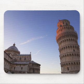 Sunlight on the top of the Leaning Tower of Pisa Mouse Mat