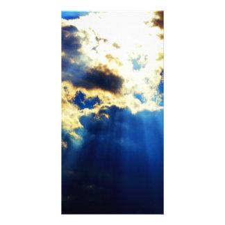 Sunlight Customized Photo Card